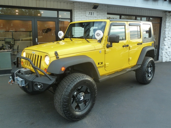 2007 JEEP Wrangler Unlimited X 4x4