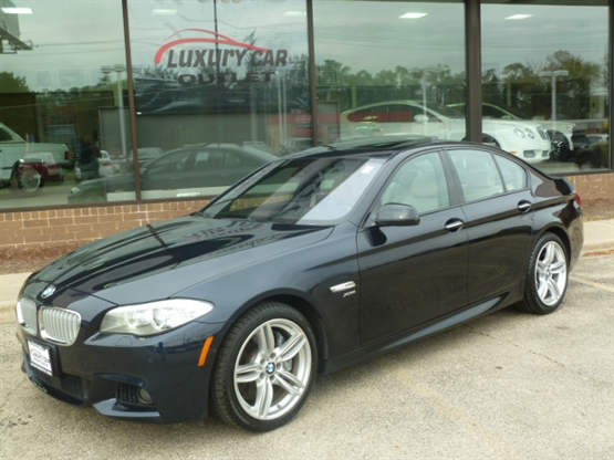 2012 BMW 5-Series 550i xDrive AWD
